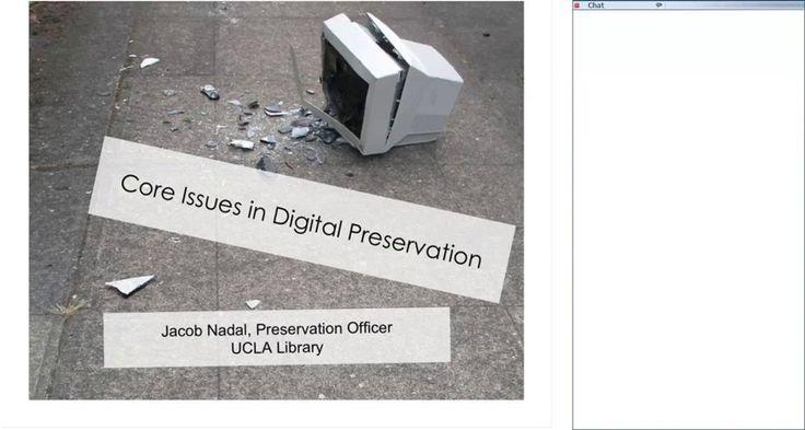 Digital Preservation: Fundamentals on Vimeo