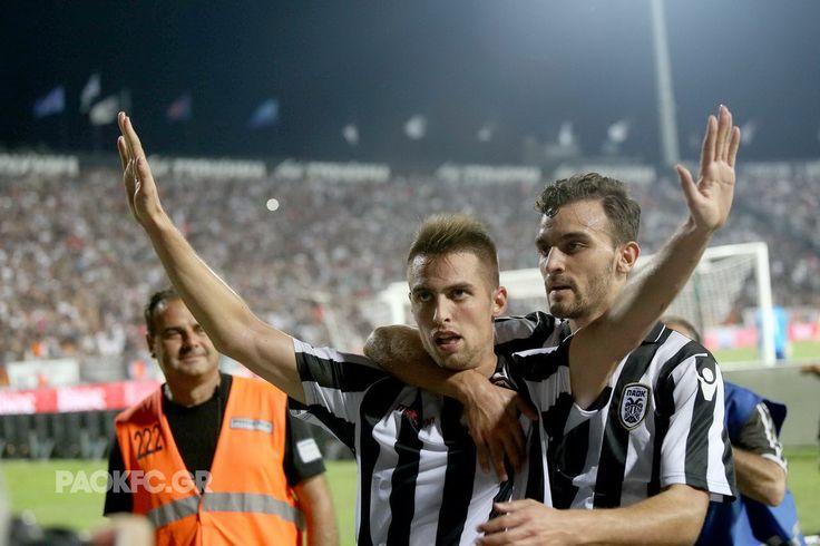 #Mak #Mystakidis #celebration #goal #scorer #Toumba