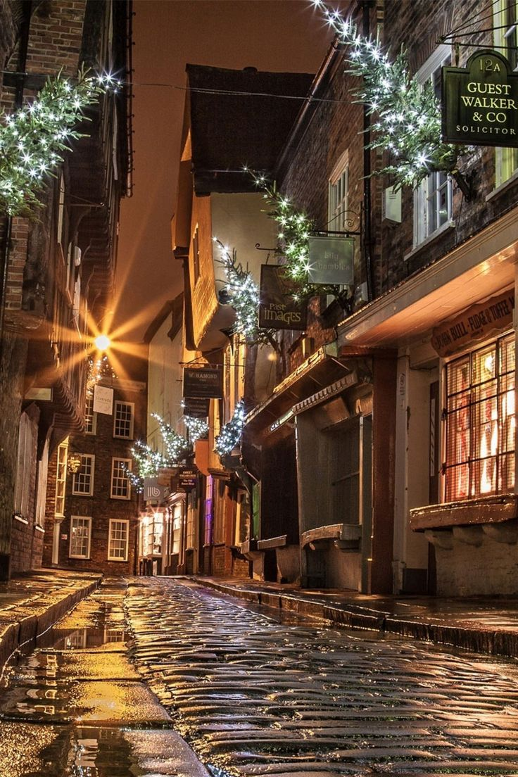 The Shambles, York, England. Maybe we can find a walking ghost/history tour for the first night we arrive in York, April 2nd? We can arrive, unpack, find an old haunted pub and eat and have a pint (or two) then find a tour to take?