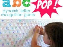 LOVE, LOVE, LOVE this idea for preschoolers!!!! ~ ABC Pop!   Scholastic.com