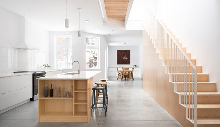 L'Abri's Minimal Montreal Duplex Puts Natural Light Front and Centre | azuremagazine.com