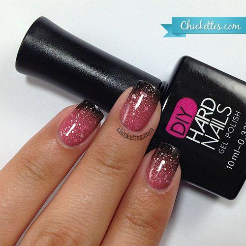 DIY Hard Nails color changing gel polish - Heartbreaker www.diyhardnails.com