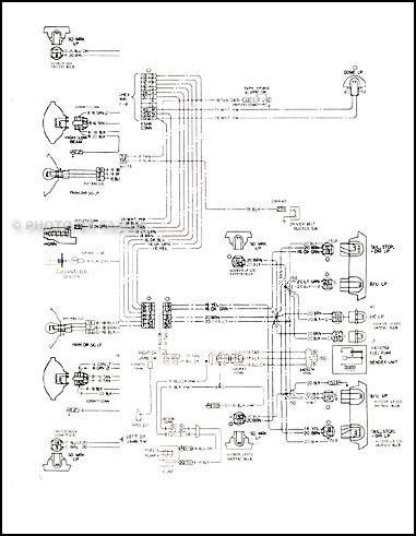 1978 Camaro Foldout Wiring Diagram Original LT, RS and Z28