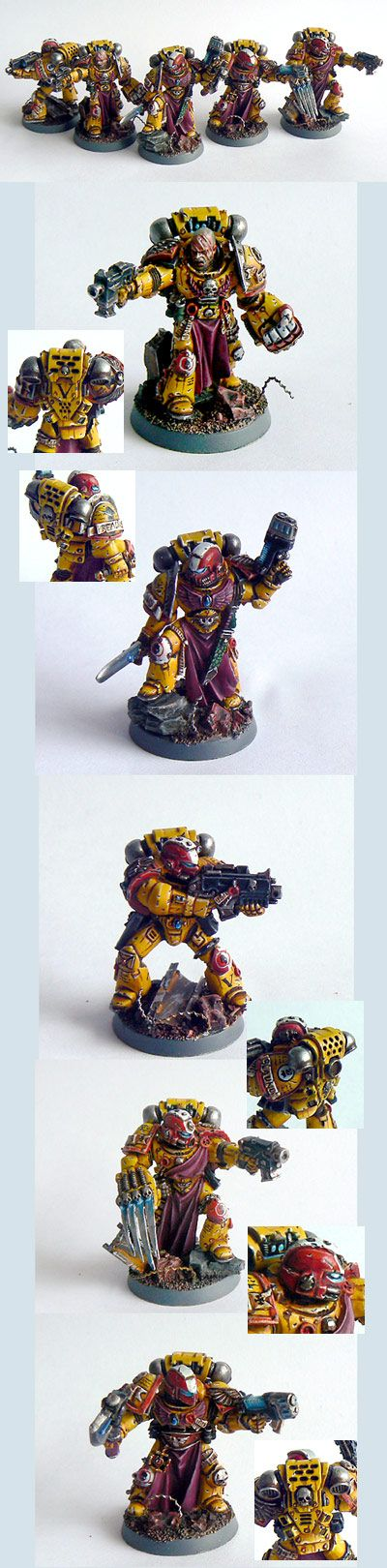 Imperial Fists Veteran squad