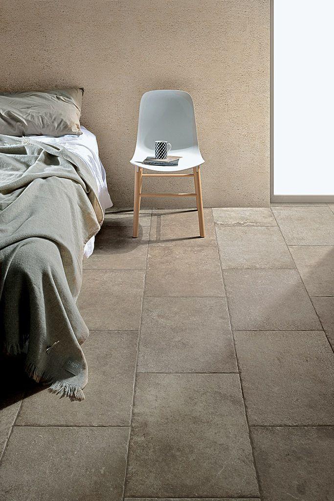 Robuuste tegels in de slaapkamer, voor een stoere uitstraling