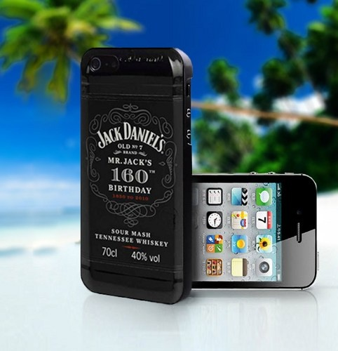 Jack Daniel Whiskey Mr.Jacks - Photo On Hard Cover For iPhone 4,4S