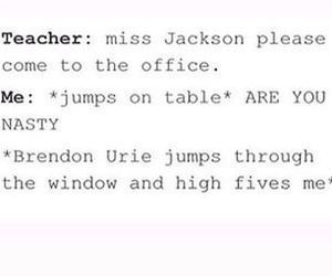A French substitute that we often get is named Ms Jackson and e v e r y t i m e she's the teacher that song gets stuck in my head