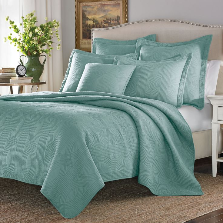 (Grey) Cottage Arbor Mineral Cotton 3-piece King Size Quilt Set (As Is Item) (King)