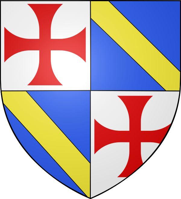 Jacques de Molay, né entre 1244 et 1249 et mort le 18 mars 1314, fut le 23e et dernier grand maître de l'ordre du Temple. 1292-1307