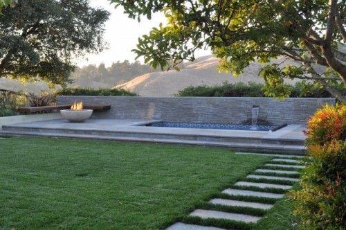 spa terrace - modern - patio - san francisco - Huettl Landscape Architecture