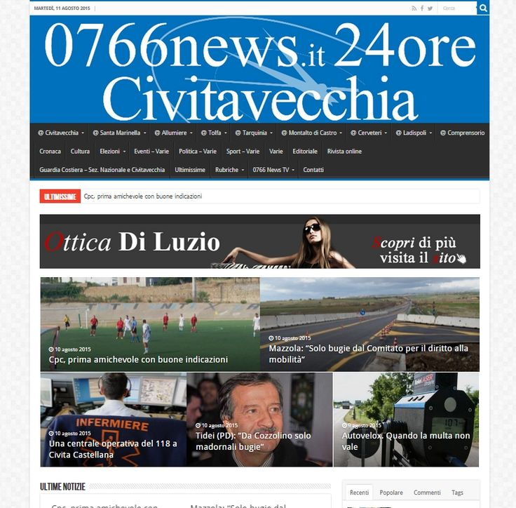 0766 News.it - I numeri dell'informazione. Periodico di informazione di Civitavecchia e del comprensorio locale