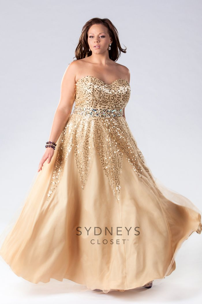 17 best images about plus size prom on pinterest for Plus size wedding dresses size 32 and up