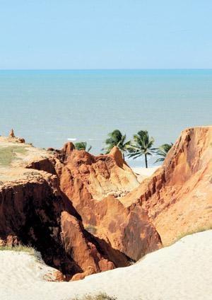 Falésias da Praia de Morro Branco