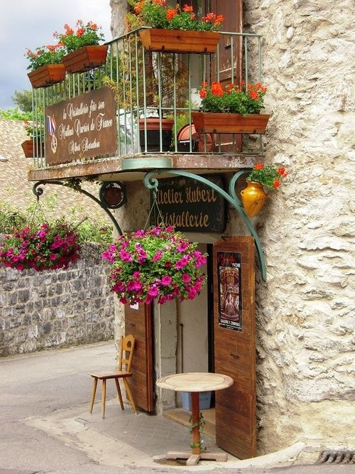 Medieval Village, Yvoire, France, I can imagine my husband and I sitting here enjoying one anothers company