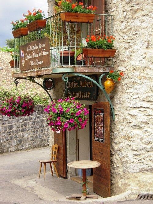 Medieval Village, Yvoire, France...: