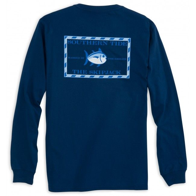 Check out Long Sleeve Original Skipjack T-shirt from Southern Tide
