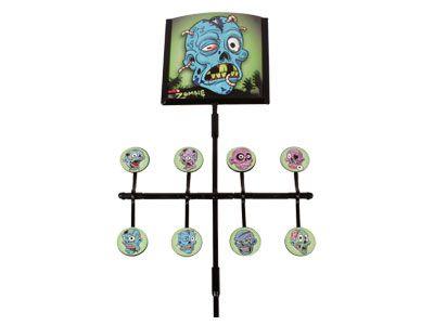 Gamo Deluxe Zombie Spinner Airgun Target, Incl. Stickers & Paper Targets. Metal.