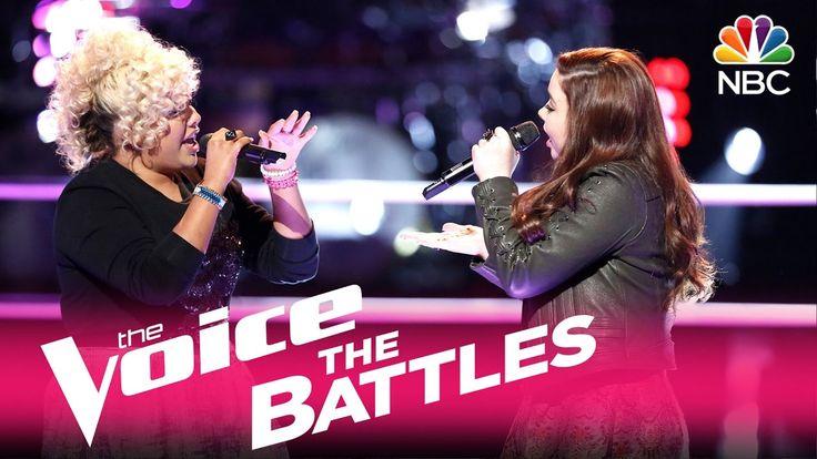 "The Voice 2017 Battle - Aaliyah Rose vs. Savannah Leighton: ""Treat You B..."