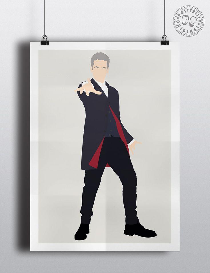 #minimalist #poster #posteritty #fanart #whovian #drwho #doctorwhol #Capaldi #12th