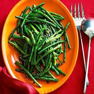 Chinese Long Beans with XO Sauce by sunset.com (calls for 2 tsp XO sauce or 2 tsp prepared oyster sauce plux 1 tsp Asian chili oil)