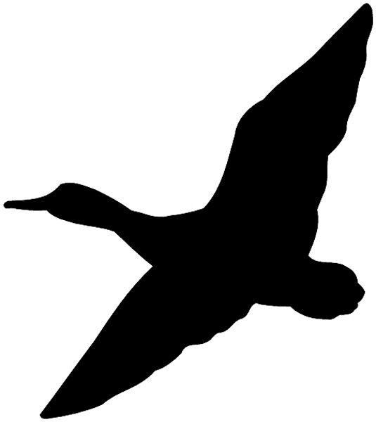 silhouette duck - Google Search