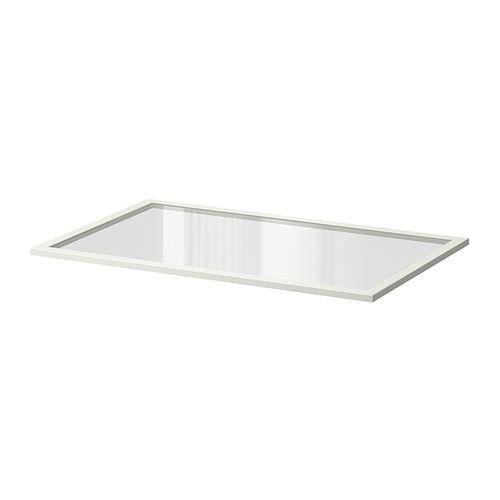 KOMPLEMENT Glass shelf IKEA 10-year Limited Warranty. Read about the terms in the Limited Warranty brochure.
