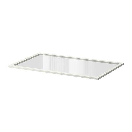 KOMPLEMENT Tablette en verre IKEA Garantie 10 ans gratuite. Détails des conditions disponibles en magasin ou sur internet.