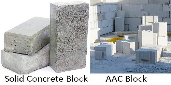 Solid Concrete Blocks Vs Aac Blocks How To Make The Right Choice Aac Blocks Concrete Blocks Cinder Block