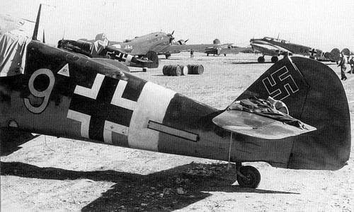 BF109-JG53 North Africa