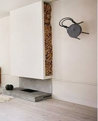 indoor fireplaces minimalistic - Google Search