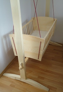 Woodworking Diary: Hanging cradle
