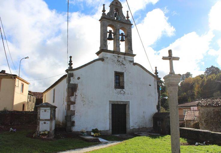Iglesia de San Xoán de Furelos, Melide, Galicia, España