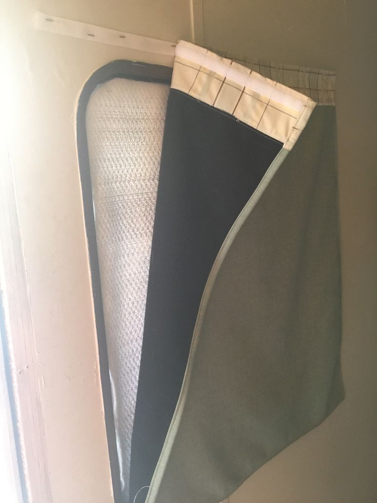 Insulated RV Window Coverings