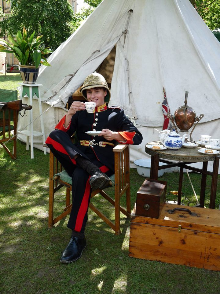 The Time Travelling Tea Tent At The Llandrindod Victorian