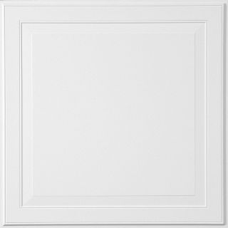 Single Raised Panel HomeStyle Ceilings Coffered Paintable 2' x 2' Panel 1210 by Armstrong