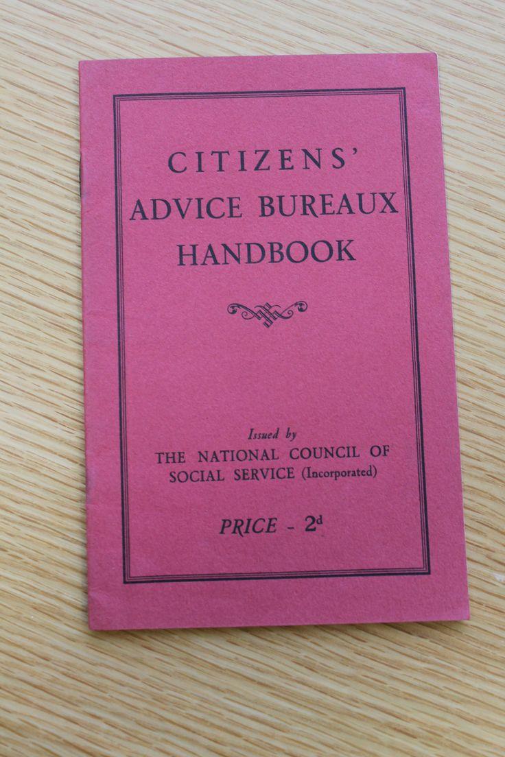 Citizens'Advice Bureaux Handbook