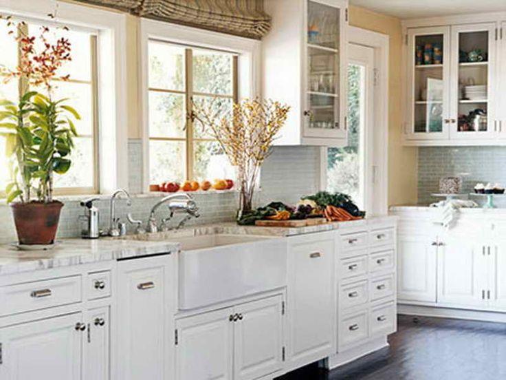 classic kitchen with white appliances - Kitchen Remodel With White Appliances