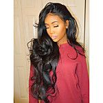 8A Brazilian Full Lace Human Hair Wig For Woman Wavy Human Hair Wigs With Baby Hair Full Lace Wig 2018 - $134.19