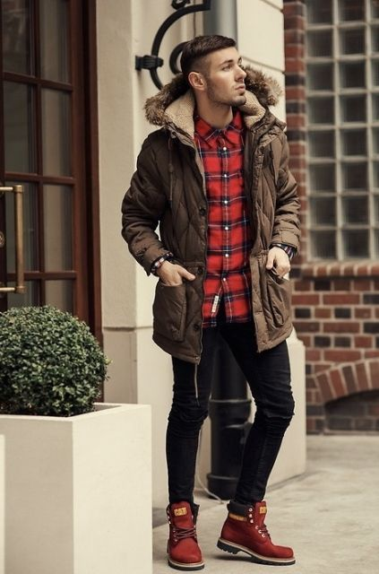 22 Cool Parka Outfits For Men