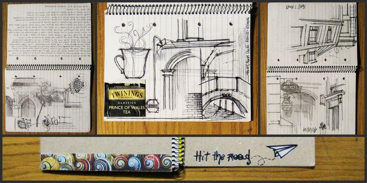sketch -ink on paper-