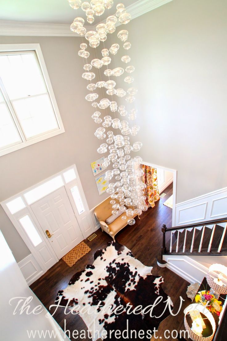 Bubble Foyer Chandelier : Best ideas about foyer chandelier on pinterest