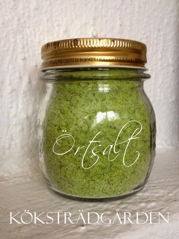 Coarse herbal salt - Grovt örtsalt #örtsalt #herbal salt
