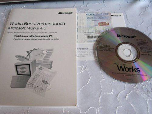 Microsoft Works 4.5/1995, SB D CD Microsoft http://www.amazon.de/dp/B000H7YCGY/ref=cm_sw_r_pi_dp_Iyzfxb1QYDYQH