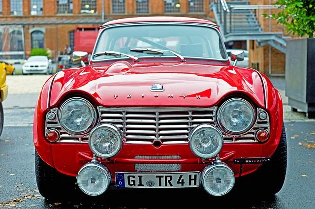 Triumph TR4, via Flickr.