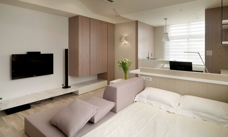 desain apartemen mungil