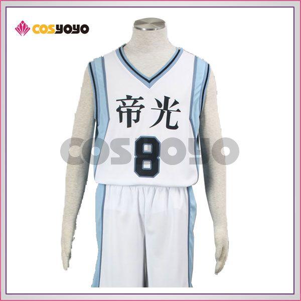 黒子のバスケ 黄瀬涼太 帝光中学校 ユニフォーム コスプレ衣装