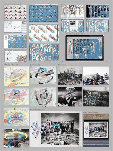 CEA level three Design - folio board three