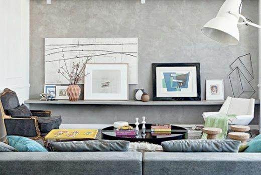 Uma das principais tendências de decoração do momento é o cimento aparente. Esta estética deixa o ambiente com um ar mais rústico, moderno e sofisticado. Além de charmoso, o acabamento com concreto também é capaz de deixar a obra mais económica.