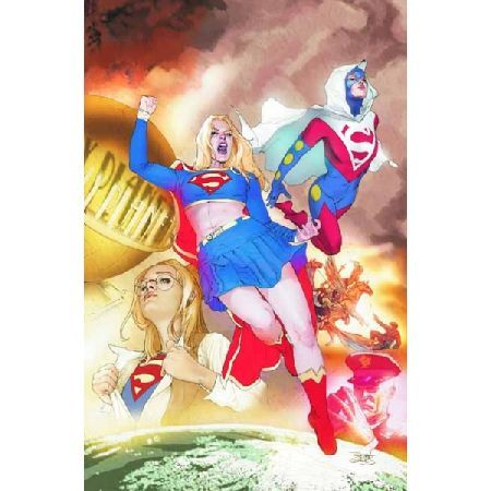 Supergirl Death And The Family TP Written by STERLING GATES HELEN SLATER  JAKE BLACK Art by JAMAL IGLE CLIFF CHIANG and others Cover by RENATO GUEDES The Silver Banshee returns in this new title collecting SUPERGIRL 48-50 and SUPERGI http://www.MightGet.com/january-2017-13/supergirl-death-and-the-family-tp.asp