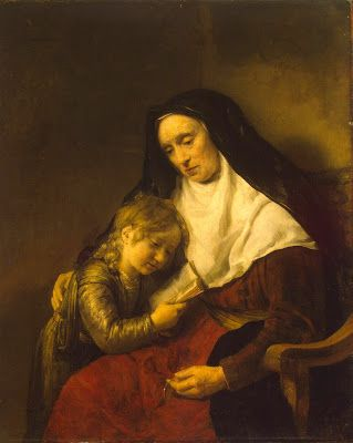 Drost, Willem (1633-1659) Timothy and Lois